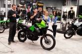 У Нью-Йорку представлений оновлений мотард Kawasaki KLR650 New Edition 2014